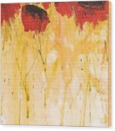 The Fleeting Nature Of Poppies Wood Print