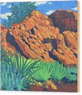The Flicker Trail Wood Print