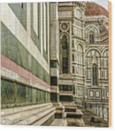 The Florence Cathedral Wood Print