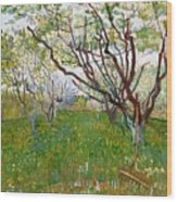 The Flowering Orchard Wood Print