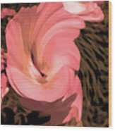 The Flowers Are Dancing Wood Print