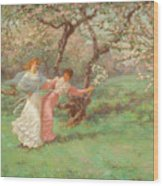 The Flowers Of May Wood Print