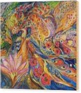 The Flowers Of Sea Wood Print