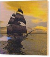 The Flying Dutchman Wood Print