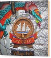 The Fo'c'sle Village Pub Wood Print