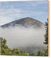 The Fog Is Rising Wood Print