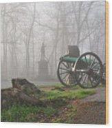The Fog Of War. Wood Print