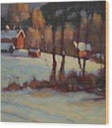 The Foisey Farm Wood Print
