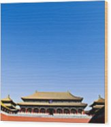 The Forbidden City Wood Print