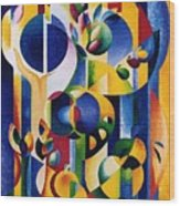 The Forbidden Fruit Wood Print