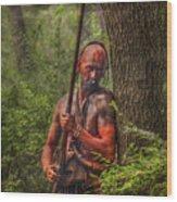 The Forest Has Eyes Bushy Run Wood Print