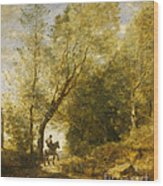 The Forest Of Coubron Wood Print