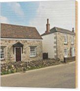 The Forge And Blacksmith's Cottage Mylor Bridge Wood Print