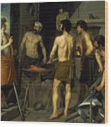 The Forge Of Vulcan Wood Print