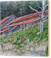The Forgotten Barn Wood Print