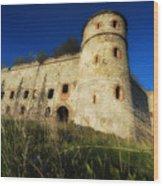 The Fortress - La Fortezza Wood Print