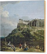 The Fortress Of Konigstein Wood Print