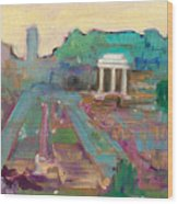 The Forum Romanum Wood Print