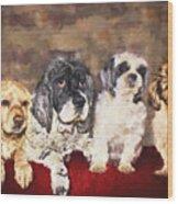 The Four Amigos Wood Print
