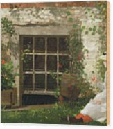 The Four Leaf Clover Wood Print by Winslow Homer