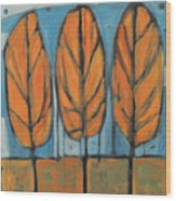 The Four Seasons - Fall Wood Print
