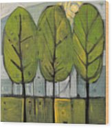 The Four Seasons - Summer Wood Print