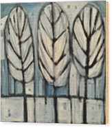 The Four Seasons - Winter Wood Print