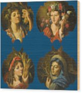 The Four Seasons Wood Print
