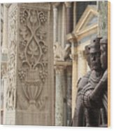 The Four Tetrarchs In Venice Wood Print