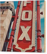 The Fox Theater Wood Print
