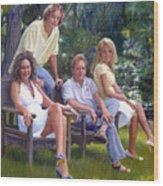 The Fraum Family Wood Print
