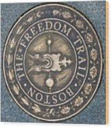 The Freedom Trail Wood Print