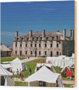 The French Castle 6709 Wood Print