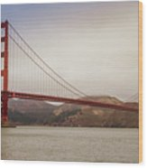 The Frisco Bridge Wood Print
