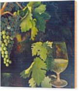 The Fruit Of The Vine Wood Print