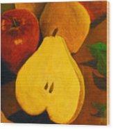 The Fruits Wood Print