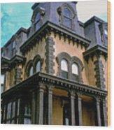 The Fulton Mansion Wood Print