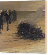The Funeral Of Shelley Wood Print