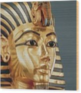 The Funerary Mask Of Tutankhamun Wood Print