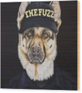The Fuzz Wood Print