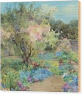 The Garden At Kilmurry Wood Print