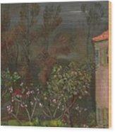 The Garden Boris Grigoriev Wood Print