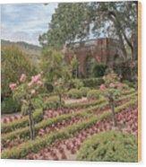 The Garden House Wood Print