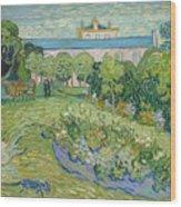 The Garden Of Daubigny Wood Print
