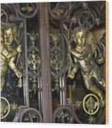 The Gates Of Heaven Wood Print