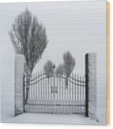The Gates To Nowhere Wood Print