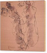 The Geisha  Four Wood Print