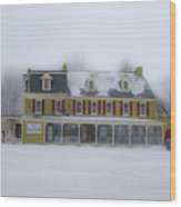 The General Lafayette Inn - Barren Hill Brewery Wood Print