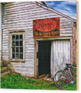 The General Store Painted Wood Print
