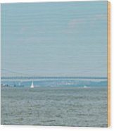 The George Washington Bridge - New York - New Jersey Wood Print